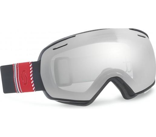 Ochelari schi si snowboard Scott Linx Ribbon Negru/Argintiu Chrome