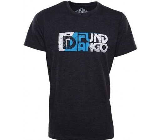 Tricou Fundango Basic T Logo 14 Negru