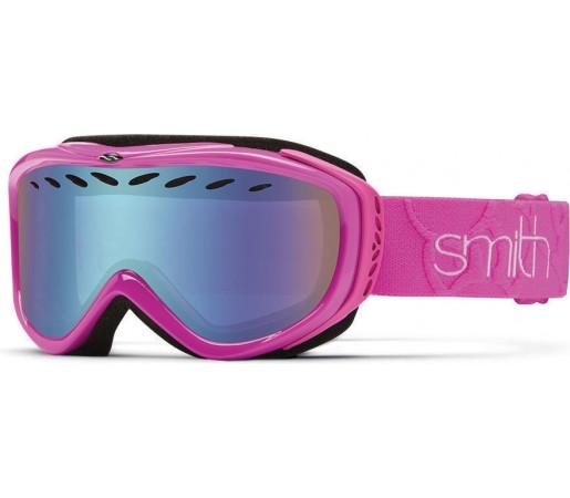Ochelari Schi si Snowboard Smith TRANSIT PRO Magenta/Blue Sensor mirror