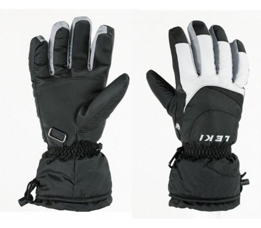 Manusi Schi si Snowboard Leki Booster Black/White