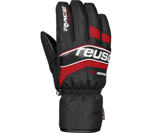 Manusi Reusch RACE VC R-TEX XT Black / Fire red