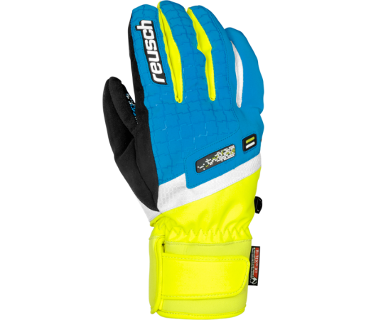 Manusi Reusch Speakeasy R- Tex Blue- Yellow