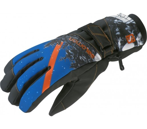 Manusi Salomon BIG-UP II M BLACK/BLUE
