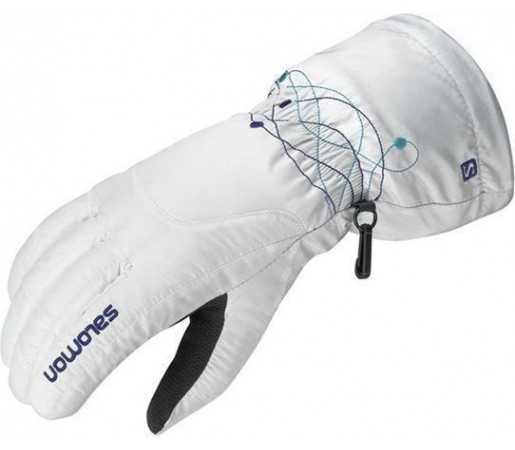 Manusi Ski Salomon Cruise W White- Blue