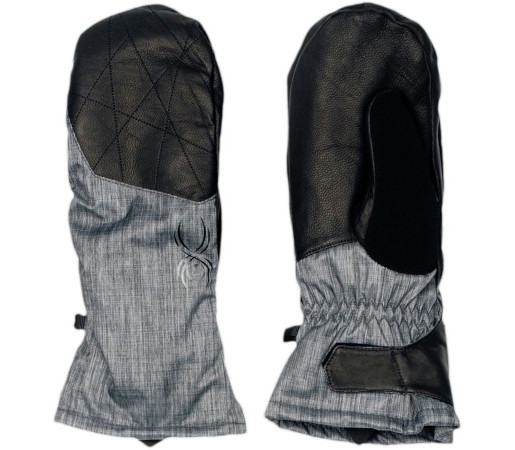 Manusi Schi si Snowboard Spyder Empress Negru Linen Fabric/Negru