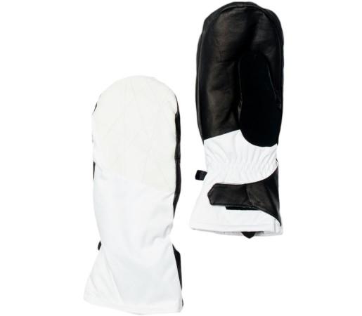 Manusi Schi si Snowboard Spyder Empress Alb Linen Fabric/Alb