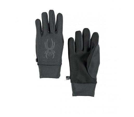 Manusi Spyder Stretch Fleece Conduct Negre