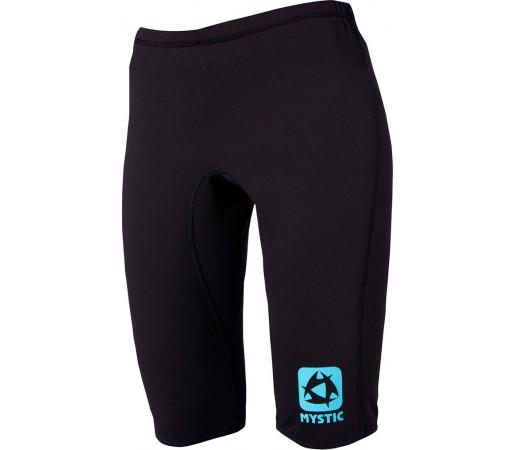 Pantaloni First Layer Mystic Bipoly W Short Pant Black/Cyan