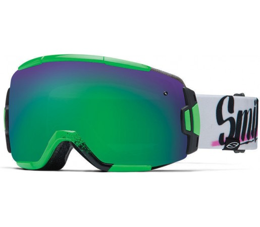 Ochelari Schi si Snowboard Smith VICE Neon Baron Von Fancy / Green Sol-X mirror