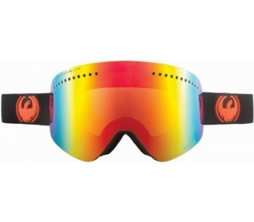 Ochelari Schi si Snowboard Dragon NFX Jet Negru / Red Ion+ Yellow Blue Ion