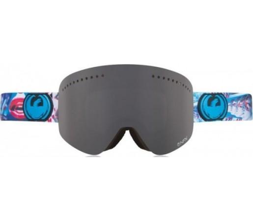Ochelari Schi si Snowboard Dragon NFX Sochph Dap Albastru / Dark Smoke + Yellow Blue Ion