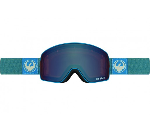 Ochelari schi si snowboard Dragon NFX2 Hone Blue / Lumalens Flash Blue + Lumalens Flash Green
