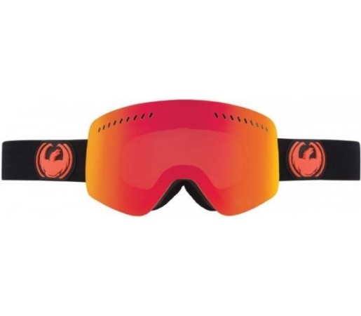 Ochelari Schi si Snowboard Dragon NFXS Jet Negru / Red Ion+ Yellow Blue Ion