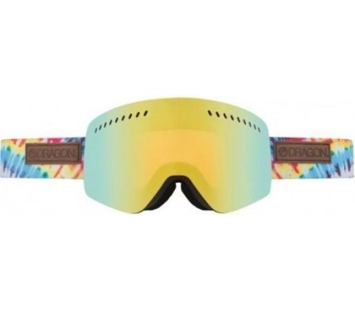 Ochelari Schi si Snowboard Dragon NFXS Tie Dye / Gold Ion + Yellow Blue Ion