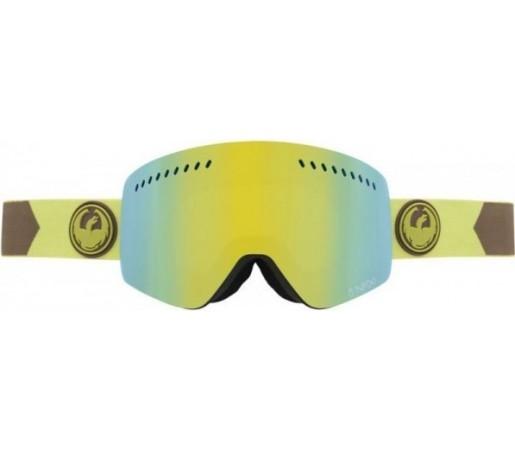 Ochelari Schi si Snowboard Dragon NFXS Titian / Smoke Gold + Yellow