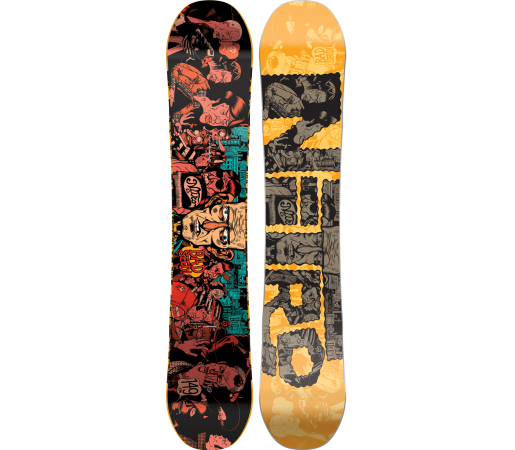 Placa Snowboard Nitro Bad Seed 2016