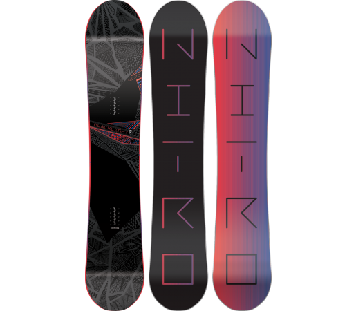 Placa Snowboard Nitro Blacklight 2016