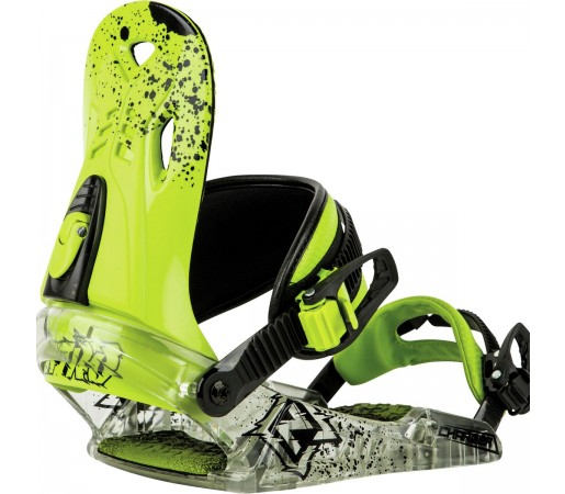 Legaturi Snowboard Nitro Charger Verzi