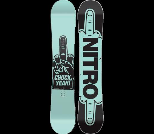 Placa Snowboard Nitro Chuck 2016
