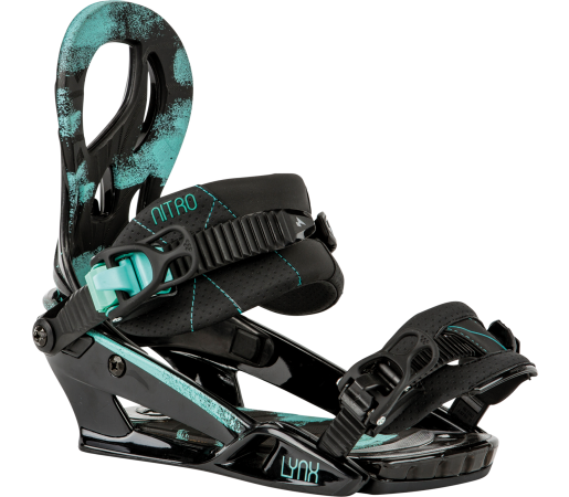 Legaturi Snowboard Nitro Lynx Negre