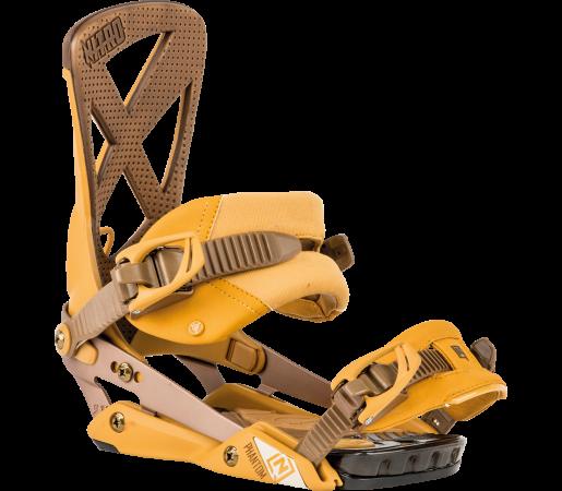 Legaturi Snowboard Nitro Phantom Galben Gold