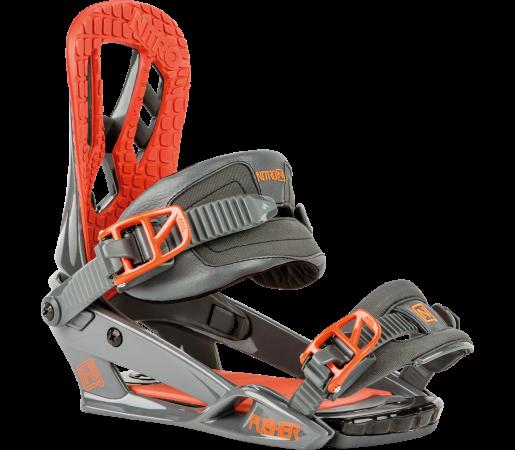 Legaturi Snowboard Nitro Pusher Portocalii