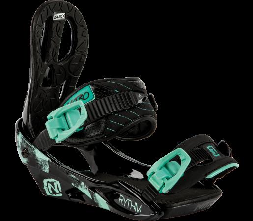 Legaturi Snowboard Nitro Rythm Negre