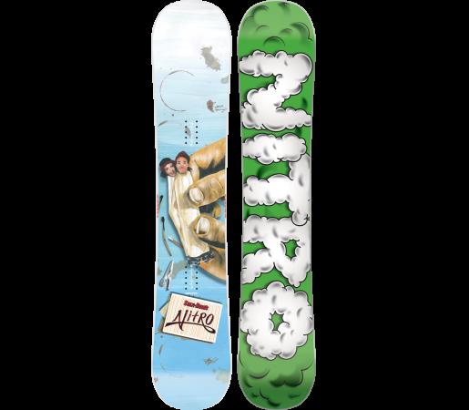Placa Snowboard Nitro Taxwood/Hobush 2016
