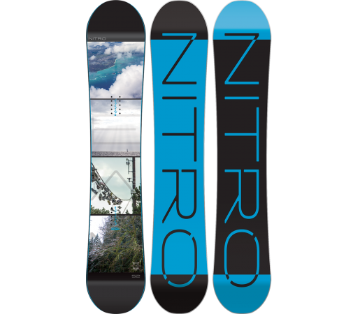 Placa Snowboard Nitro Team Exposure Gullwing 2016