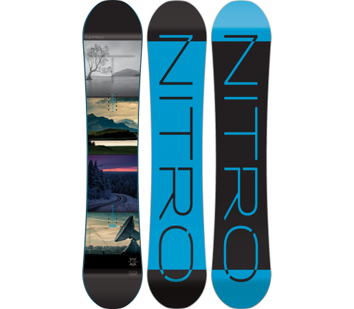 Placa Snowboard Nitro Team Exposure Gullwing Wide 2016