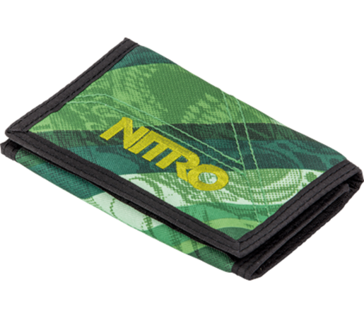 Portofel Nitro Wallet Wicked Verde