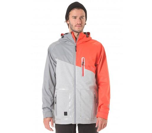 Geaca Snowboard Nitro Manning Gri/Portocaliu