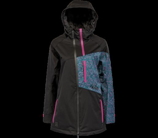 Geaca Snowboard Nitro Northstar Negru/Albastru/Roz