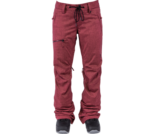 Pantaloni Snowboard Nitro Tate Rosii