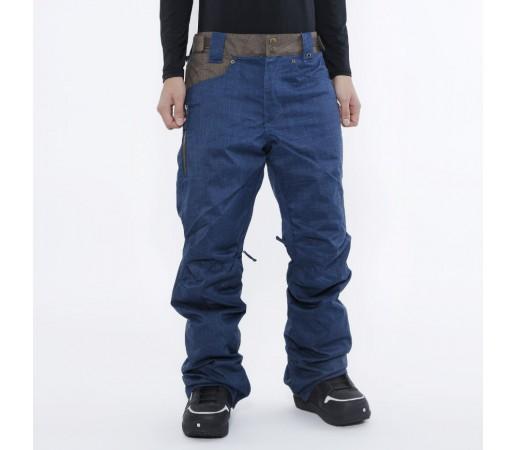 Pantaloni Snowboard Nitro Selkirk Albastru Denim