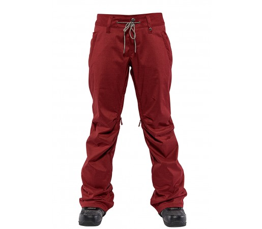 Pantaloni Snowboard Nitro Tate Rosu Inchis