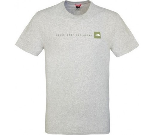 Tricou The North Face M S/S Never Stop Exploring Gri