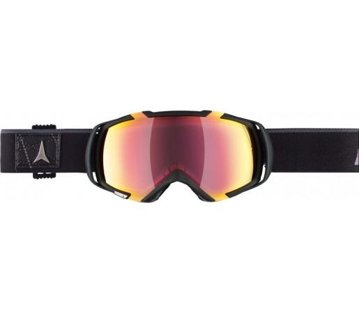Ochelari de schi si snowboard Atomic Revel 3 M Negru/ Rosu