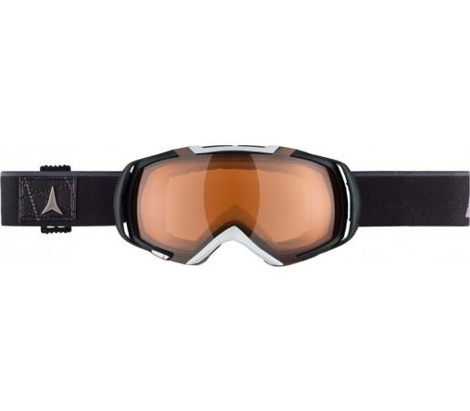 Ochelari de schi si snowboard Atomic Revel 3 M + STD Lens Negru/ Rosu