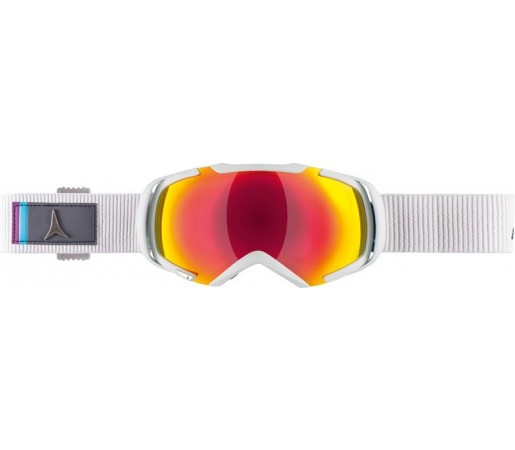 Ochelari de schi si snowboard Atomic Revel 3 S Alb/ Rosu