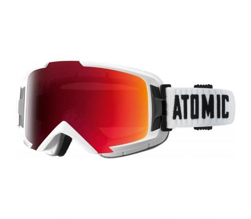 Ochelari Schi si Snowboard Atomic Savor OTG ML Albi/Rosii