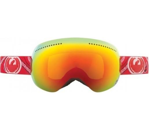 Ochelari Schi si Snowboard Dragon APX Paisley / Red Ion + Yellow Blue Ion