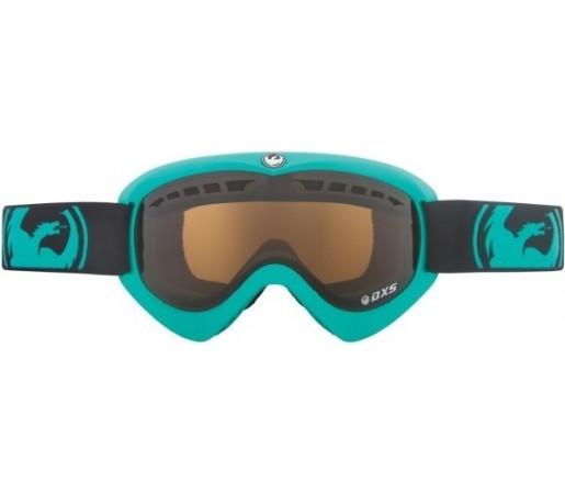 Ochelari Schi si Snowboard Dragon DXS Turcoaz / Jet