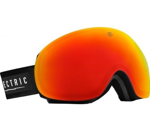 Ochelari Ski ELECTRIC EG3 Gloss Black Bronze/Red Chrome