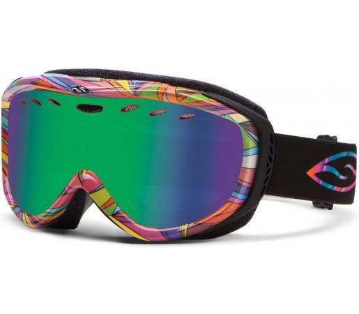 Ochelari Schi si Snowboard Smith Cadence Prankster/ Green Sol-X
