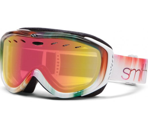 Ochelari Schi si Snowboard Smith Cadence White Ombre/ Red Sensor