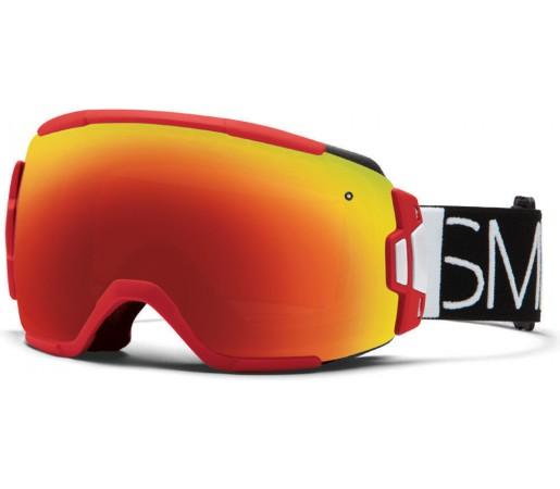 Ochelari Schi si Snowboard Smith VICE Fire Blockhead / Red Sol-X