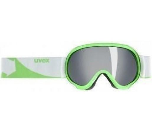 Ochelari Schi si Snowboard Uvex GGL 7 Pure White- Green