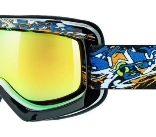 Ochelari Schi si Snowboard Uvex Sioux Cf Black- Blue