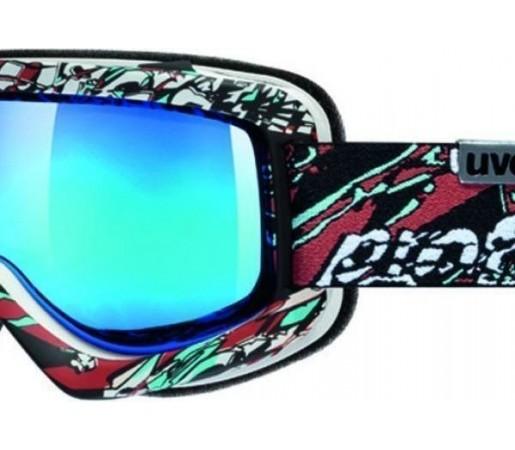Ochelari Schi si Snowboard Uvex Sioux Cf Black- Red- White